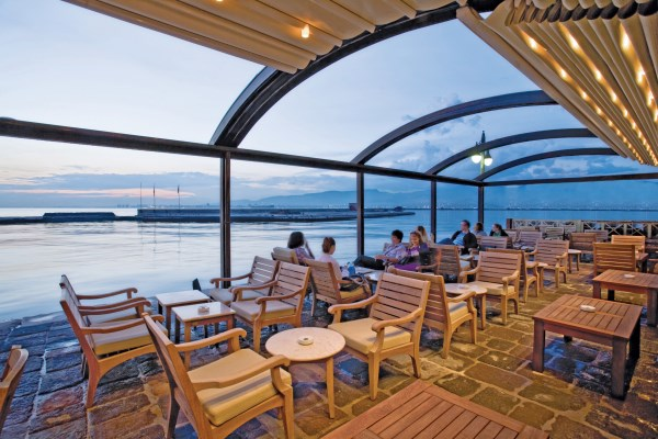 Free Standing Curved Retractable Roof Systems - Awnings ...