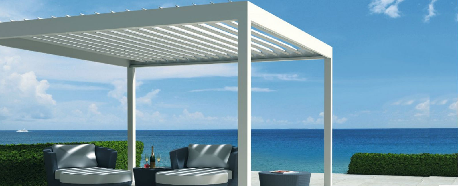 Retractable Roof Systems Uk Commercial Awnings Amp Giant